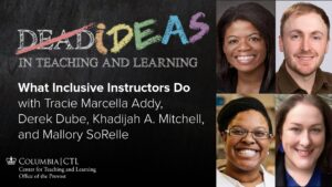 What Inclusive Instructors Do podcast episode