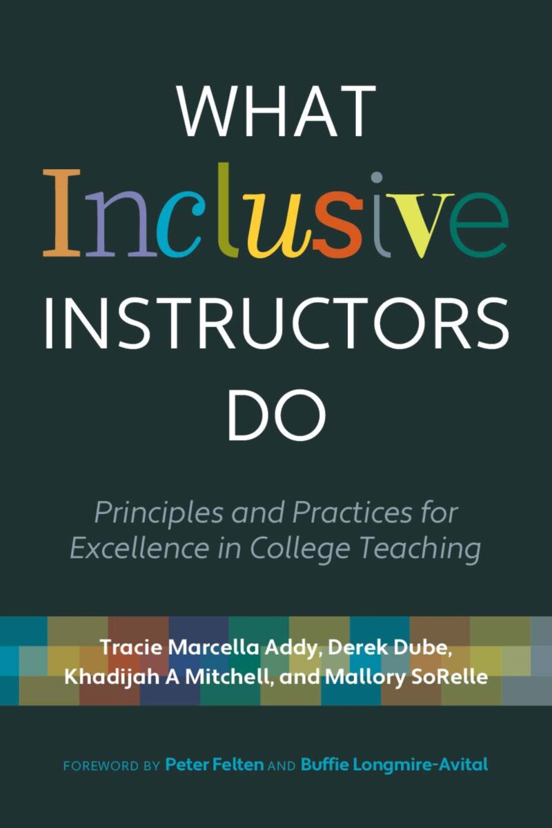 Book cover: What Inclusive Instructors Do