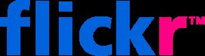Flickr logo, © 2009 Yahoo! Inc.