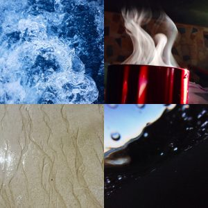 Collage illustrating the beauty of fluid flows. Submitted by Merinda Hansen-Kemp
