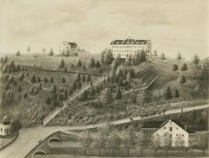 Campus view_ca. 1838