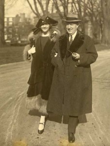 39:2  The Christys visit the White House in 1924 to paint the President and Mrs. Calvin Coolidge.