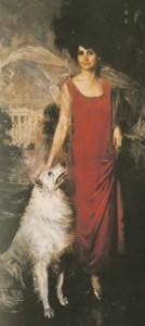 24:3 Grace Coolidge portrait, 1924