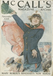 17:25a McCall's cover illustration, 1918