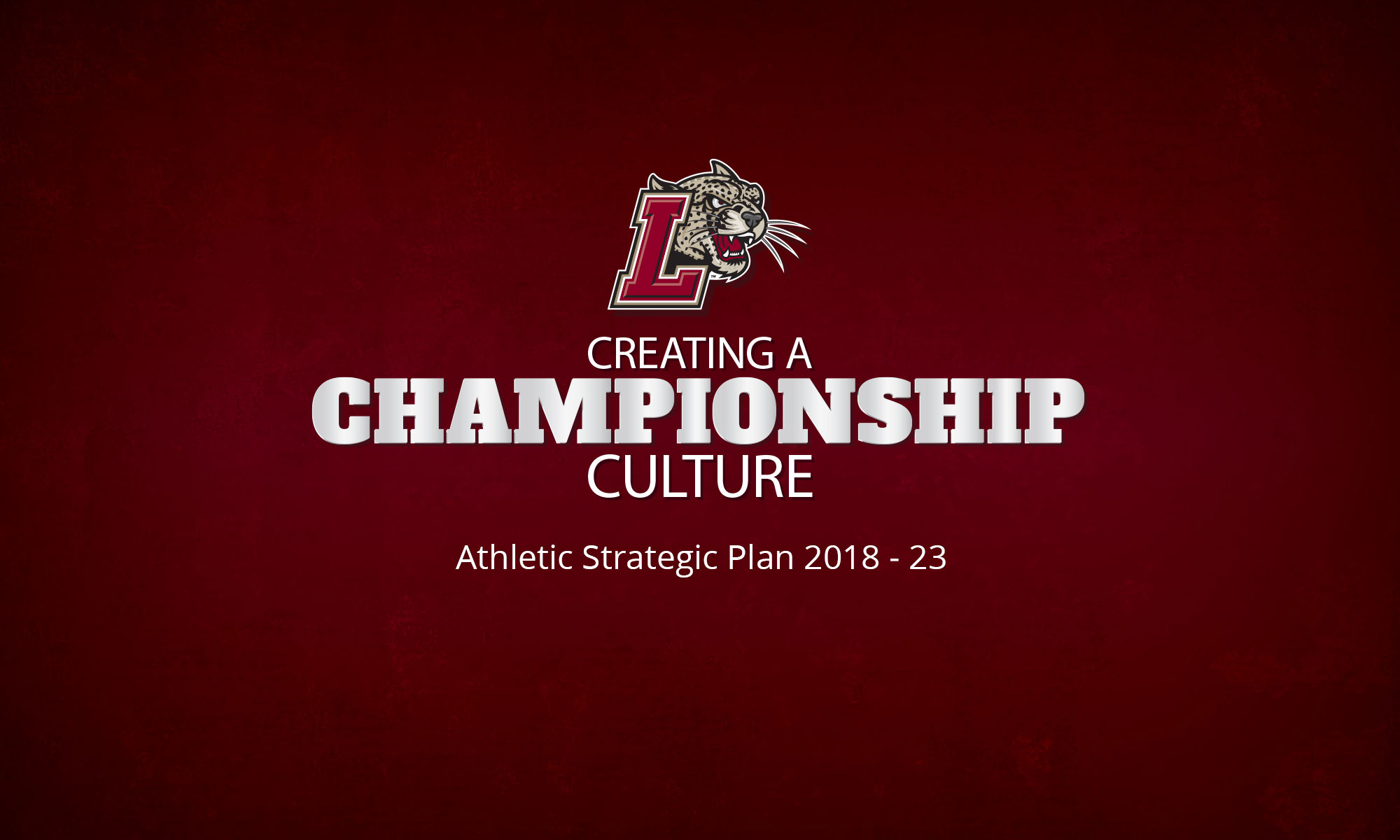 Athletic Strategic Plan