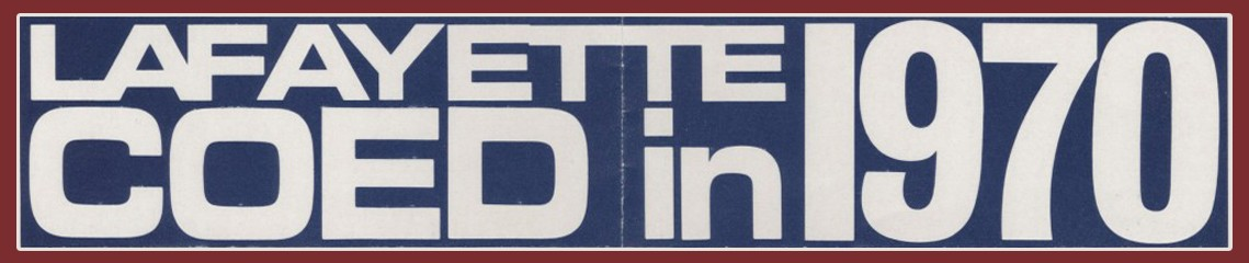 Lafayette: Coed in 1970