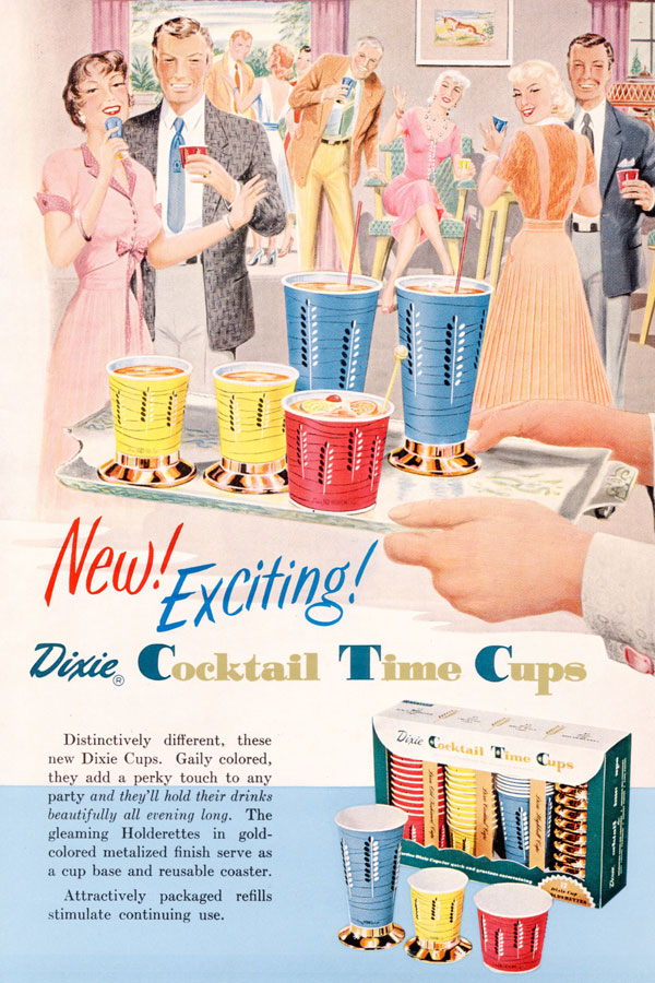 1950s Whistlin Dixie Marketing The Paper Cup 1910 1960