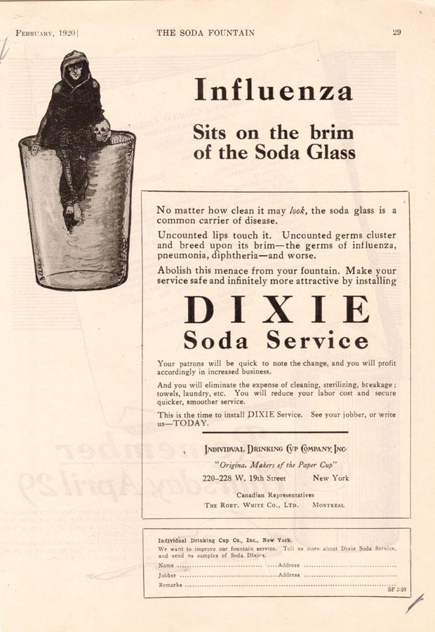 1920s  u2013 whistlin u0026 39  dixie  marketing the paper cup  1910