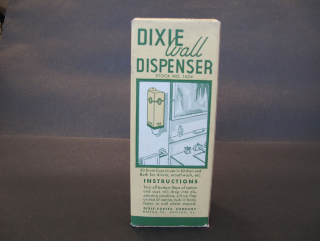 1930s – Whistlin' Dixie: Marketing the Paper Cup, 1910-1960