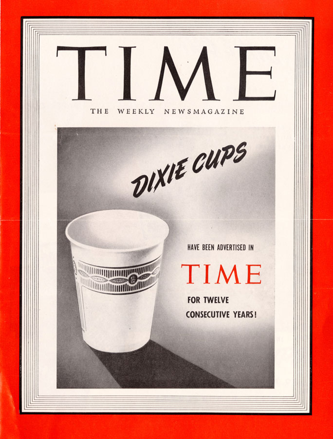 1940s – Whistlin' Dixie: Marketing the Paper Cup, 1910-1960