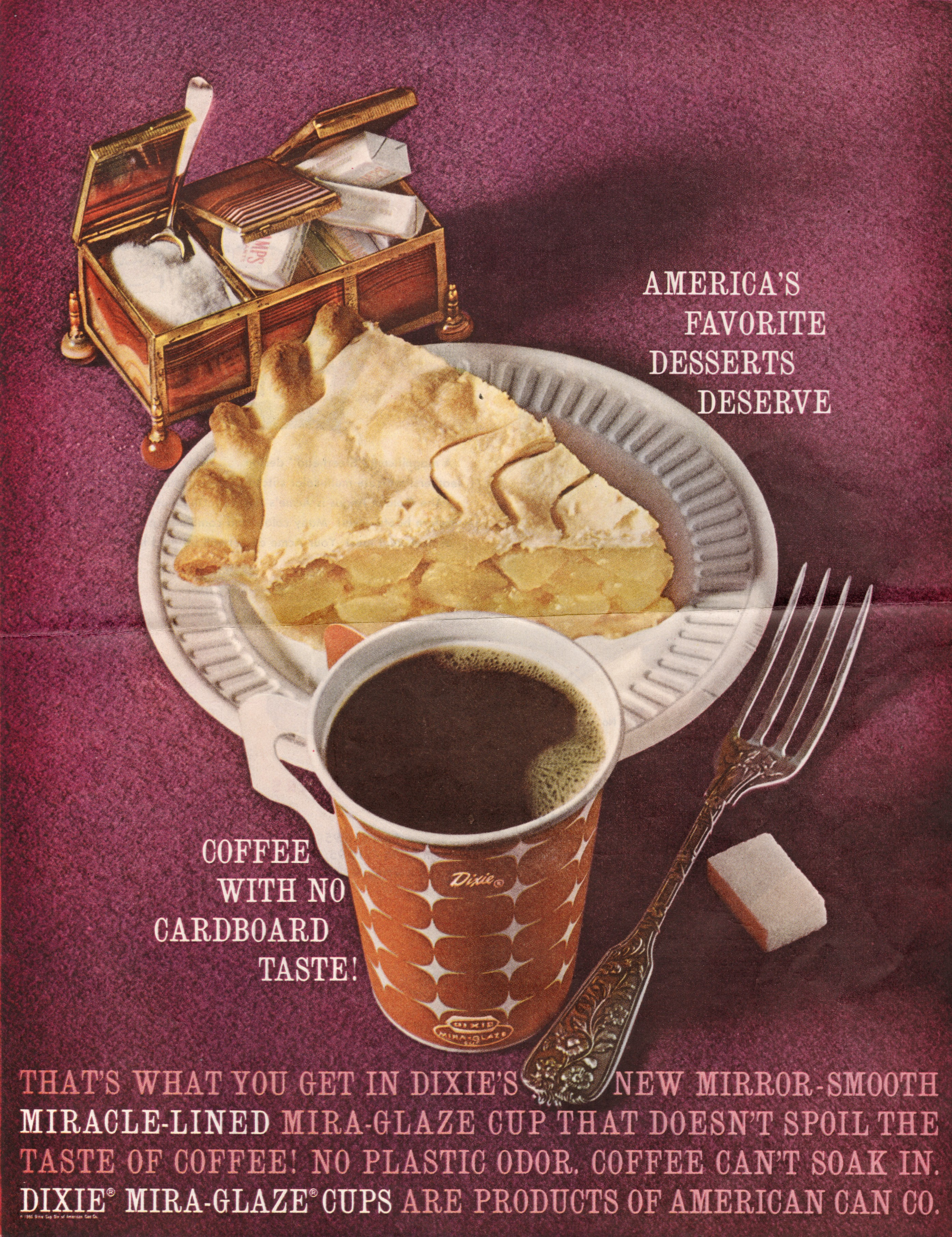1960s Whistlin Dixie Marketing The Paper Cup 1910 1960