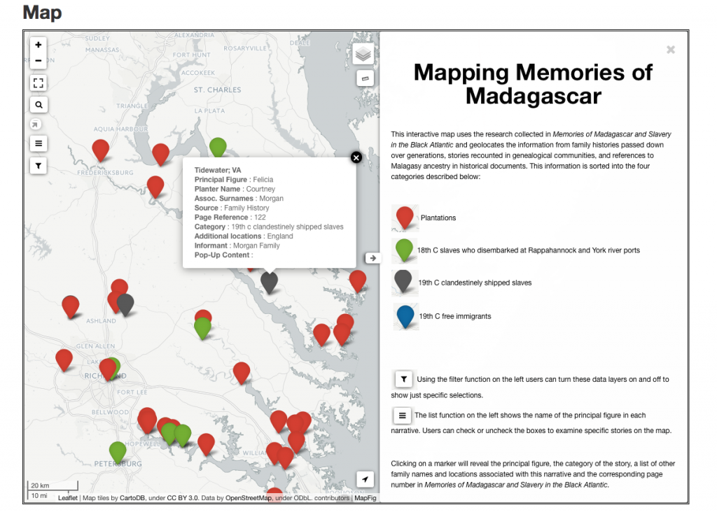 image of interactive map