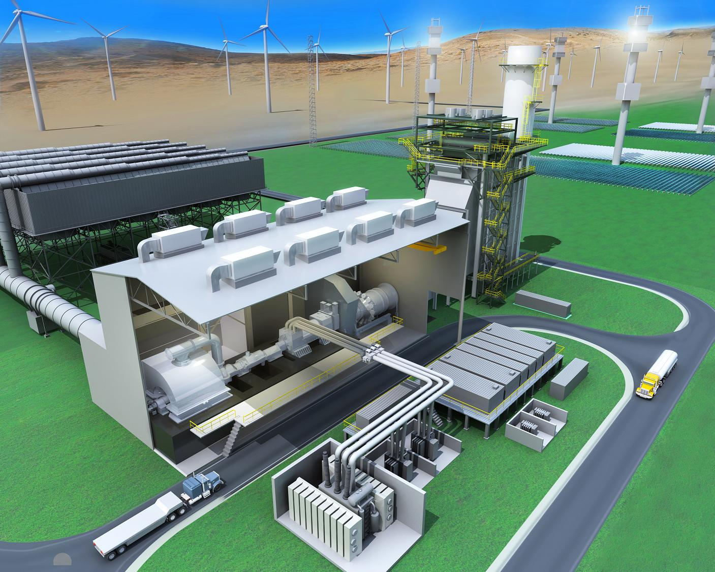 Gas Turbine Combined Cycle Gtcc Low Carbon Electricity