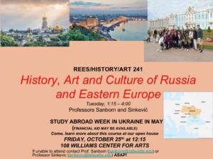 Poster Russian seminar course