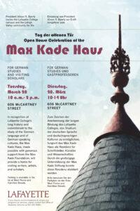 Max Kade House