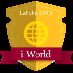 iWorld badge