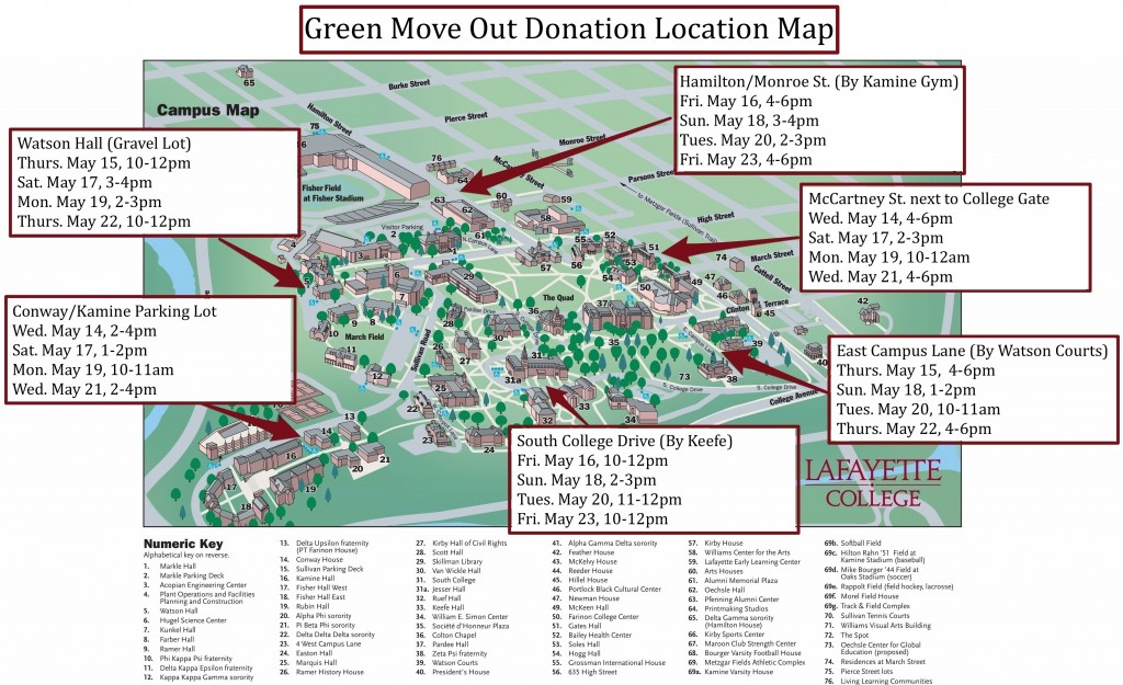 Green Move Out Locations Map Final