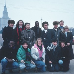 students who went to the Soviet Union in fall 1989