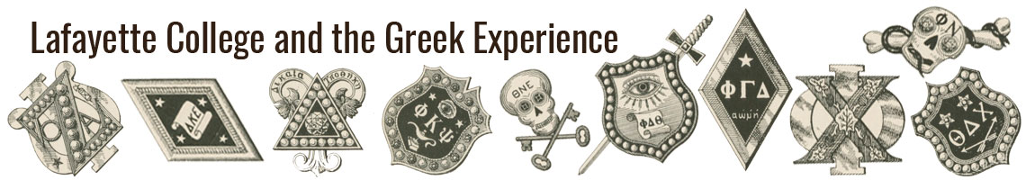 Lafayette College and the Greek Experience