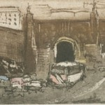 Entrance to the Lincoln Tunnel