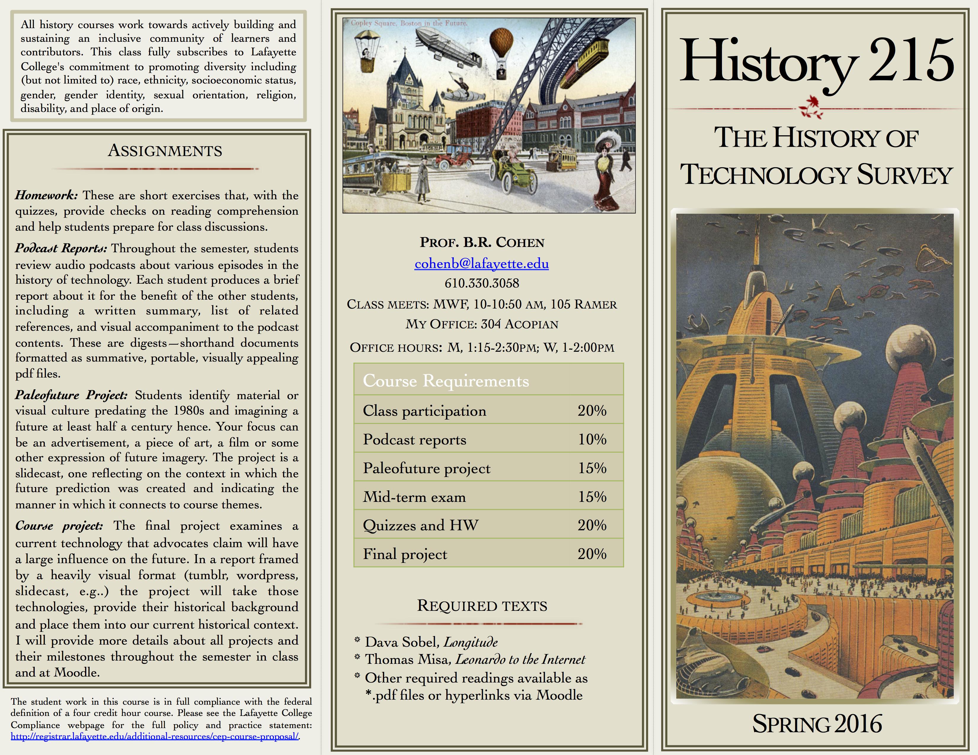 HIST 215 SP16 Course Overview