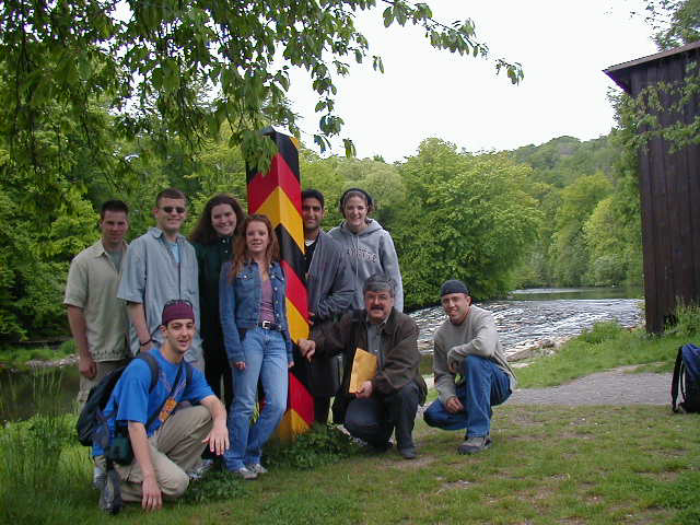 The Neisse River: Border between Germany and Poland