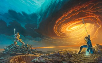 Cover art for Words of Radiance.
