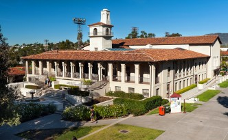A photo of one of the buildings on the Occidental College campus.