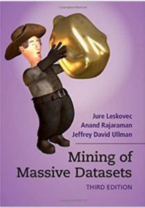 Mining Massive Datasets, Cover Art