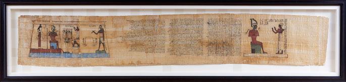 papyrus-framed
