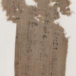 fragment of linen mummy 6 front