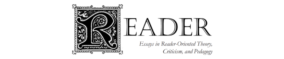 essay reader response theory [from the engl 0310 syllabus] a reader response asks the reader [you] to examine, explain and defend her/his personal reaction to a reading you will be asked to explore there is absolutely no need to refer to other, outside sources for this assignment—this is a critical essay, not a research paper 2) be very careful to.