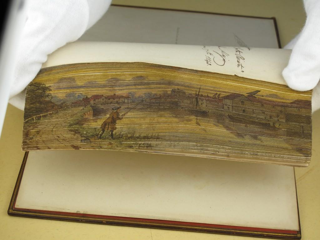 1823 edition of Izaak Walton's Complete Angler