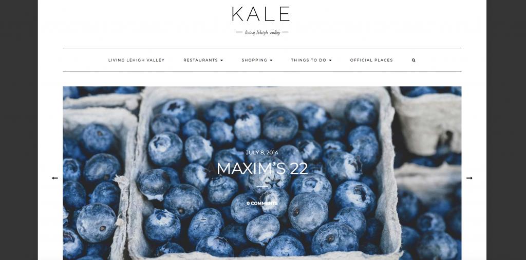 Kale Sample site