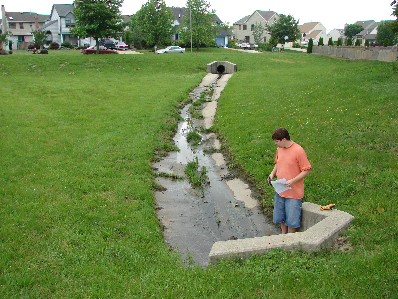 Stormwater Management Basin : Stormwater josh wyrick